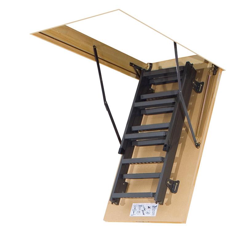 Metalen vlizotrap comfort lms vlizotrappen for Metalen trap maken